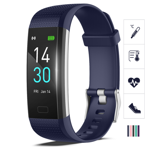 AS-7 BLUE Fitness Trackers Watch