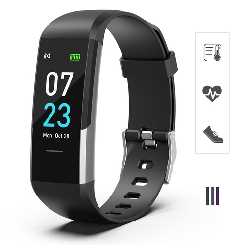 AS-8 BLACK Fitness Trackers Watch