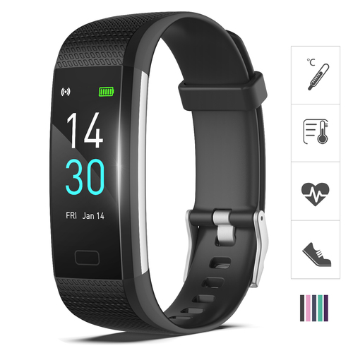 AS-7 BLACK Fitness Trackers Watch